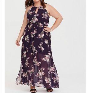 Torrid maxi dress size 3